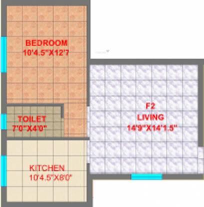 CC Ruvanthika Enclave (1BHK+1T (600 sq ft) Apartment 600 sq ft)