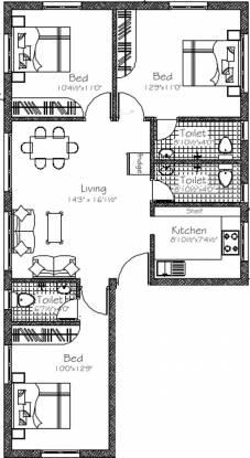 Good Mayflower (3BHK+3T (1,130 sq ft) Apartment 1130 sq ft)