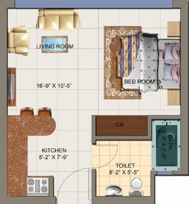 Nirala Arcade And Suites (1BHK+1T (575 sq ft) Apartment 575 sq ft)