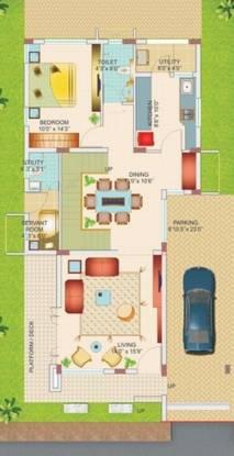 Highlife Pristine Stone Ridge (4BHK+5T (2,580 sq ft)   Servant Room Villa 2580 sq ft)