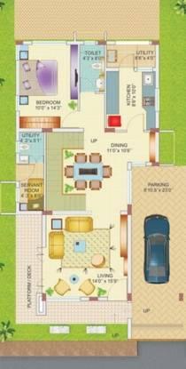 Highlife Pristine Stone Ridge (4BHK+5T (3,544 sq ft)   Servant Room Villa 3544 sq ft)