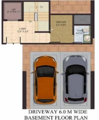 Supertech Sports City Villas (4BHK+5T (2,405 sq ft) + Servant Room Villa 2405 sq ft)