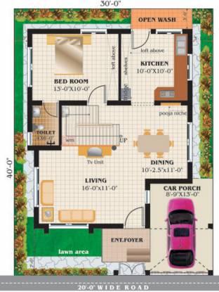 Engineers Pearl Residency (3BHK+3T (1,356 sq ft) Villa 1356 sq ft)