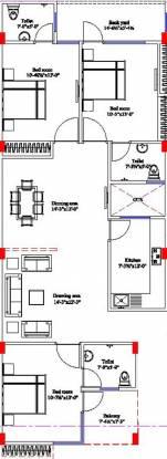 Vinayak Vinayak Apartments (3BHK+3T (1,500 sq ft) Apartment 1500 sq ft)