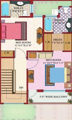 Amrapali Modern City Villa (3BHK+3T (885 sq ft) Villa 885 sq ft)