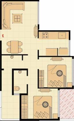 Neelkanth Krupa (2BHK+2T (956 sq ft) Apartment 956 sq ft)