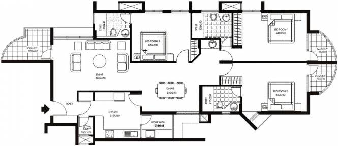 Mather Maison Dor in Panampilly Nagar, Kochi - Flats for Sale in ...