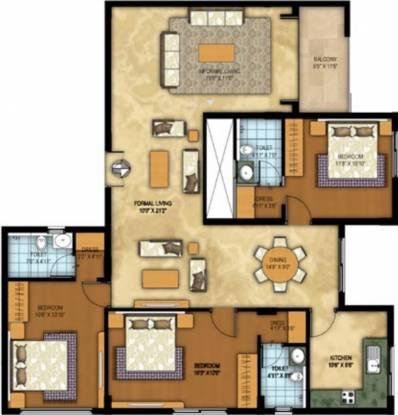 Vista Auburn (3BHK+3T (1,720 sq ft) Apartment 1720 sq ft)