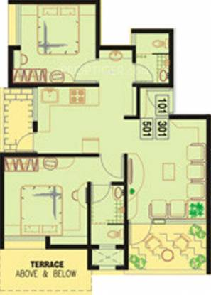 Windsor Swapna Sankul (2BHK+2T (754 sq ft) Apartment 754 sq ft)