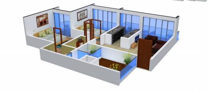 Adinath Arpan (2BHK+2T (1,100 sq ft) Apartment 1100 sq ft)