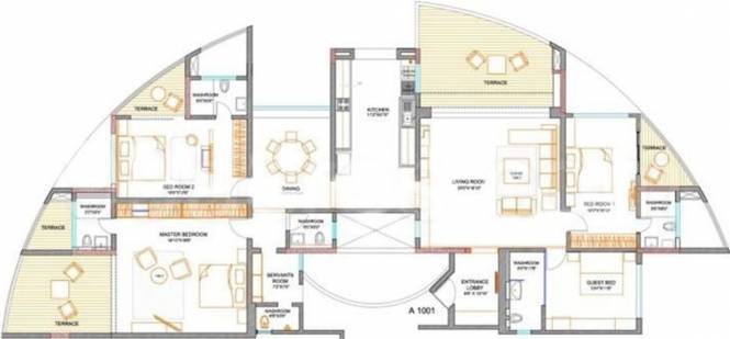 Bhagwati Rutuparna Society (4BHK+4T (3,353 sq ft) Apartment 3353 sq ft)