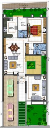 Koncept Palm County Rows (4BHK+5T (3,570 sq ft)   Servant Room Villa 3570 sq ft)