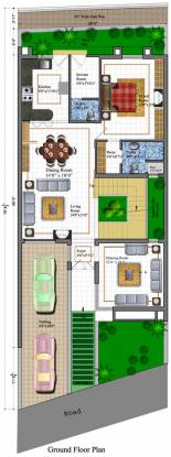 Koncept Palm County Rows (4BHK+5T (3,340 sq ft)   Servant Room Villa 3340 sq ft)