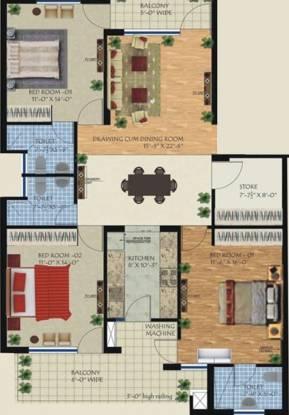 Soni Royal Heights (2BHK+3T (1,800 sq ft) Apartment 1800 sq ft)