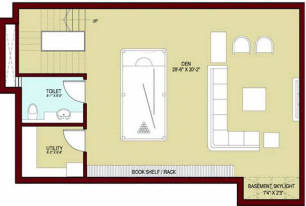 Vatika Signature Villas (5BHK+5T (3,654 sq ft) + Servant Room Villa 3654 sq ft)