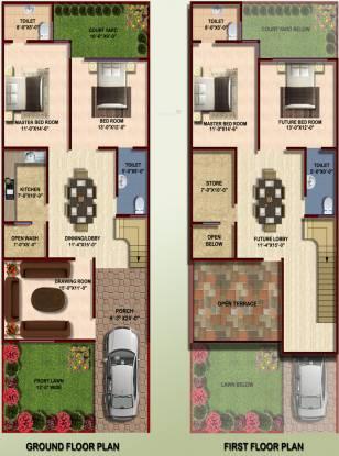 Lucknow Heights Infra Dream Valley Villas Lucknow Heights Infra Dream Valley Villas (4BHK+4T)