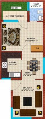 Dara Dara Greens (1BHK+1T (675 sq ft) Apartment 675 sq ft)