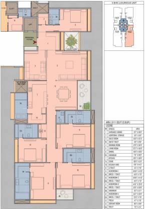 Goyal Riviera One (5BHK+6T (6,111 sq ft) + Servant Room Apartment 6111 sq ft)