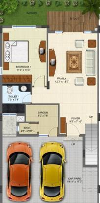 JSV Nakshatra (4BHK+4T (3,520 sq ft) + Study Room Villa 3520 sq ft)