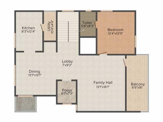 CPR Bella Vista (4BHK+4T (3,895 sq ft) Villa 3895 sq ft)