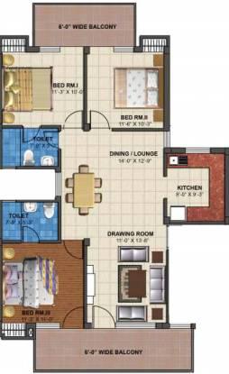 TDI Emperor Floors (3BHK+2T (2,025 sq ft) Apartment 2025 sq ft)