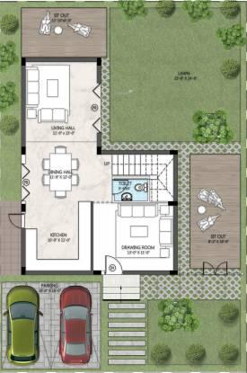 Sark Garden Villas (3BHK+4T (2,400 sq ft) Villa 2400 sq ft)
