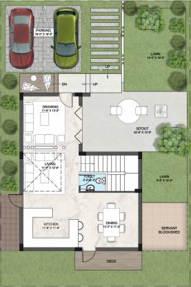 Sark Garden Villas (3BHK+4T (2,500 sq ft) Villa 2500 sq ft)