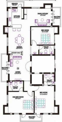 Firm Sai Arul Nivas (3BHK+3T (2,055 sq ft) + Study Room Apartment 2055 sq ft)