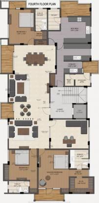 Sumanth Sreshta Kalpagam (3BHK+3T (1,730 sq ft) + Servant Room Apartment 1730 sq ft)