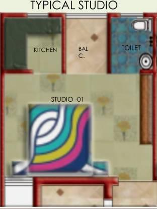 Zenext Zenext Heights (1BHK+1T (300 sq ft) Apartment 300 sq ft)