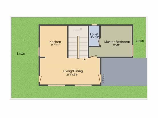 Praneeth Pranav Blooms (3BHK+3T (1,640 sq ft) Villa 1640 sq ft)