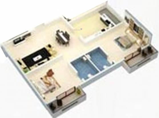 Al Najm Builders Bangalore Najm Sapphire (2BHK+2T (1,100 sq ft) Apartment 1100 sq ft)