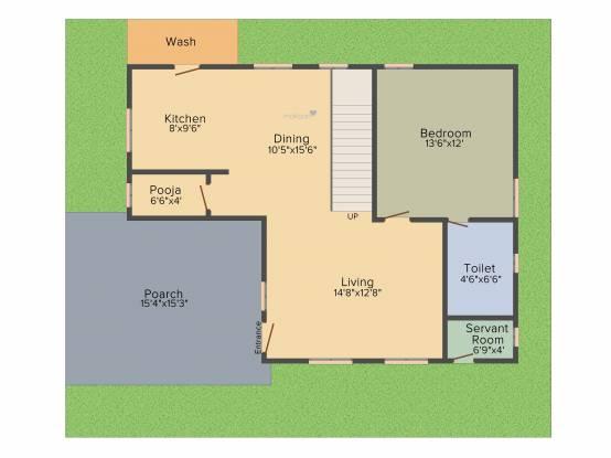 Suryodaya Green Space (3BHK+3T (2,167 sq ft) Villa 2167 sq ft)
