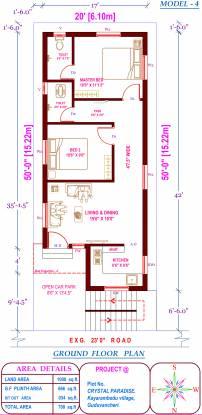 KPN Crystal Paradise (2BHK+2T (731 sq ft) Villa 731 sq ft)