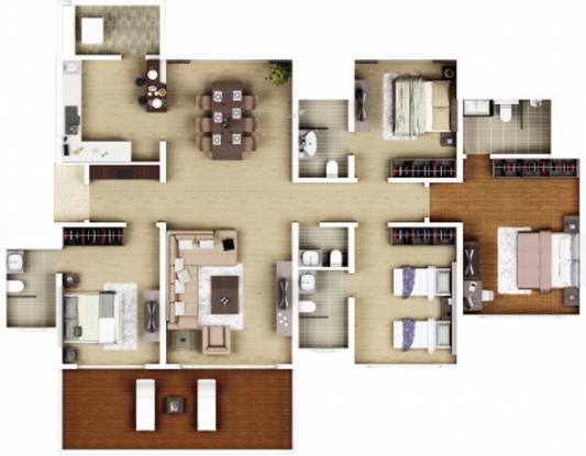 Kasturi Epitome Phase I (4BHK+5T (1,291.13 sq ft) Apartment 1291.13 sq ft)