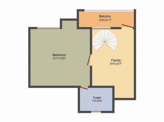 Radiance Aikya (3BHK+3T (1,802 sq ft) Apartment 1802 sq ft)