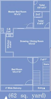 Siddhartham Mansion (2BHK+2T (558 sq ft) Villa 558 sq ft)