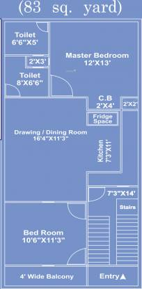 Siddhartham Mansion (2BHK+2T (747 sq ft) Villa 747 sq ft)