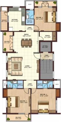 Kgeyes Mahalingapuram (3BHK+3T (2,088 sq ft) + Pooja Room Apartment 2088 sq ft)