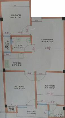 Mukesh Ashiyana (3BHK+3T (750 sq ft) Apartment 750 sq ft)