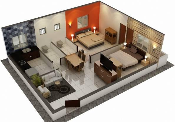 Asset ATH Aspire (2BHK+2T (790 sq ft) Apartment 790 sq ft)
